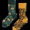 Rabatt Many Mornings Socken Leoparden