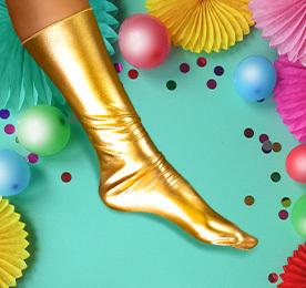 Verseny: 5 arany zokni
