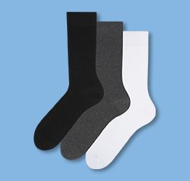 Dreierpackung Socken