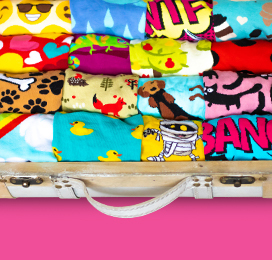Big summer competition - your chance to win one of 9 briefcases full of socks
