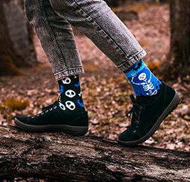 Accro aux chaussettes