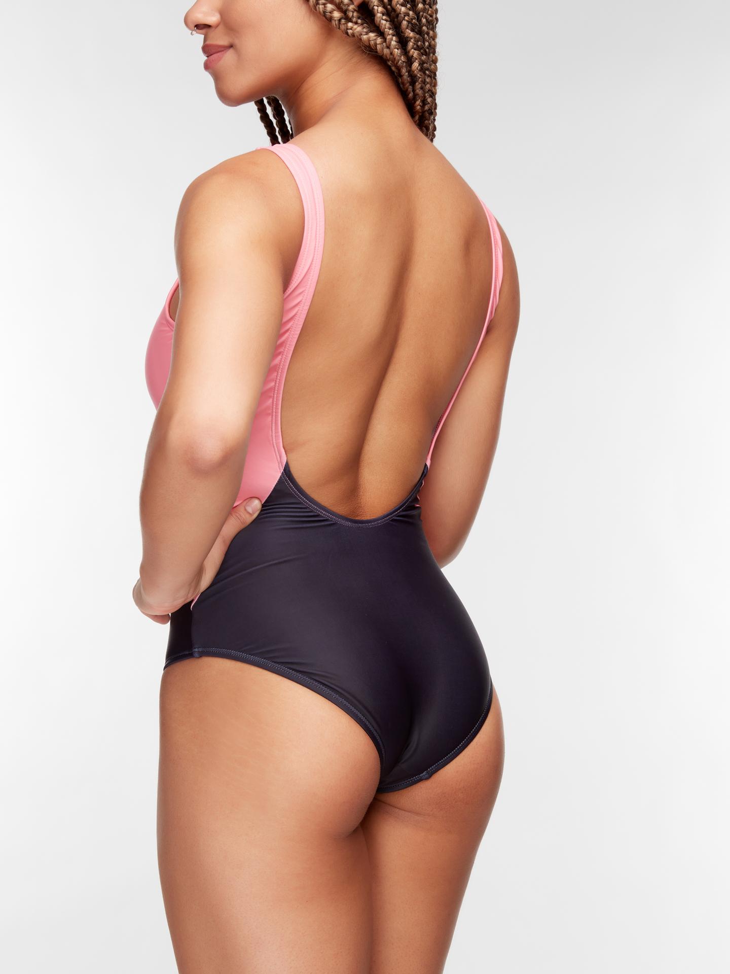 Pre dokonalý a originálny outfit Women's One-piece Swimsuit Black Kitten