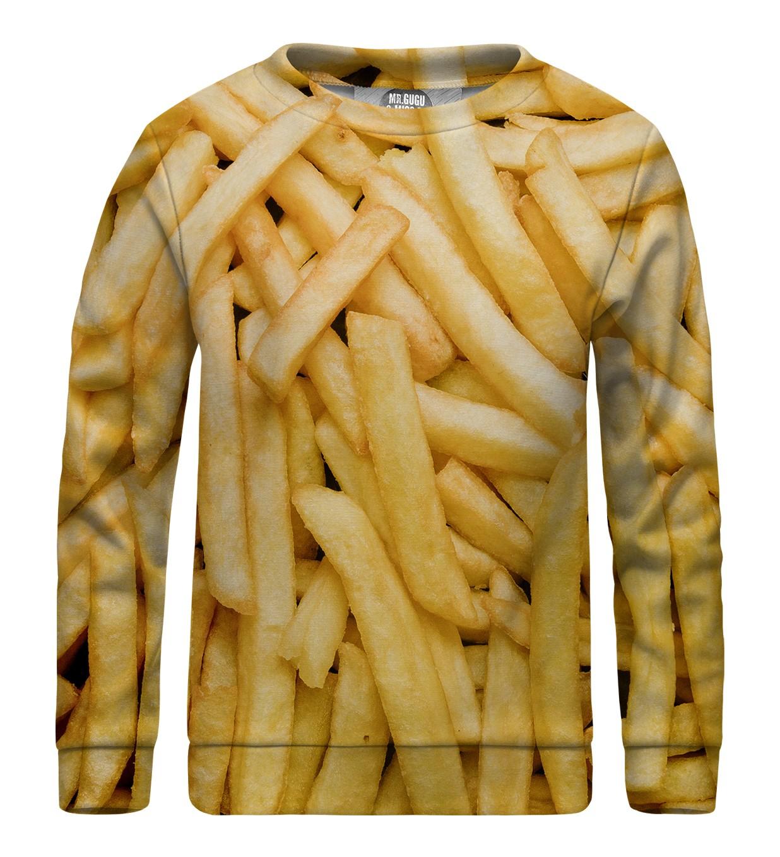 ee2b108b9fc7 Detská mikina bez kapucne Fries