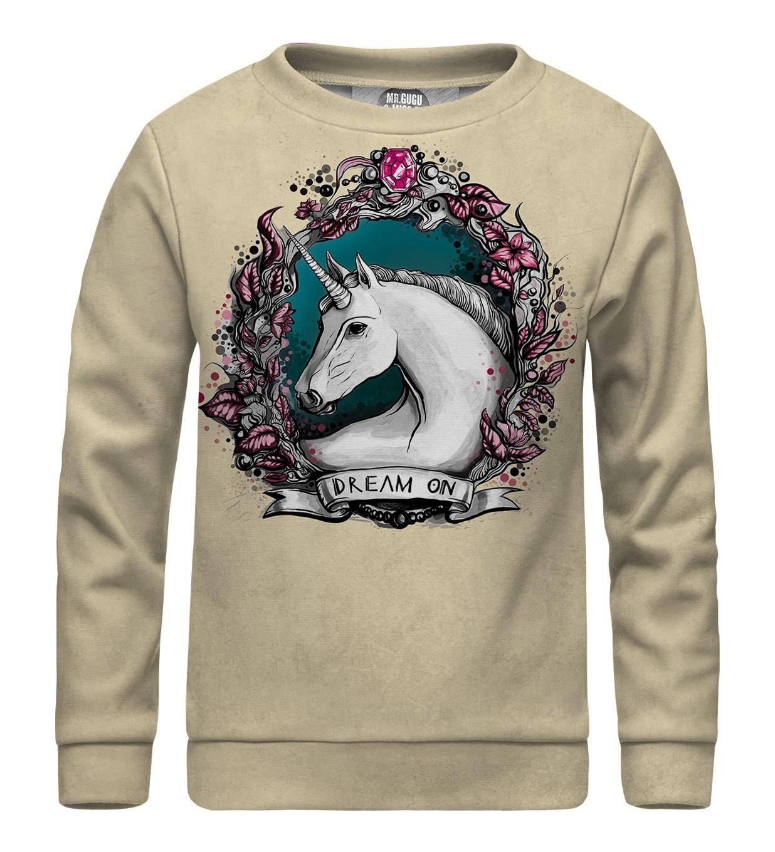 a232b0618858 Detská mikina bez kapucne Unicorn Portrait